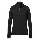 Ladies' Sports  Shirt Halfzip