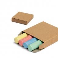 Pack of 4 chalk sticks.