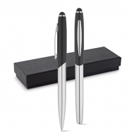 DOUBLETTE Roller pen and ball pen set