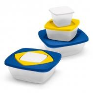 Set of 3 airtight boxes