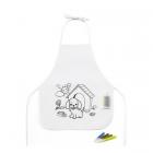 Children's colouring apron