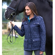 Ladies' Diamond Quilted Jacket