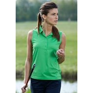 Ladies' Active Polo Sleeveless