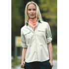 Ladies' Travel Blouse Roll-up Sleeves