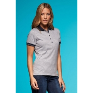 Ladies' Heather Polo