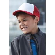 5 Panel Polyester Mesh Cap for Kids